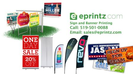 Photos and videos of eprintz print shop kitchener on n2r 1s2 print shop for banners signs yard signs business cards etc reheart Images